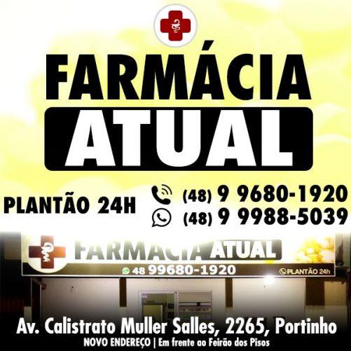 Farmácia Atual | PLANTÃO 24H