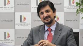 Fernando de Castro Faria, juiz e autor de obras eleitorais: 'Eleição é a condição mínima da democracia'. Divulgação/TJ-SC