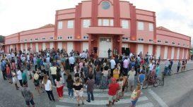 Inauguração do Mercado Público em janeiro de 2020 – Foto: Elvis Palma/Agora Laguna