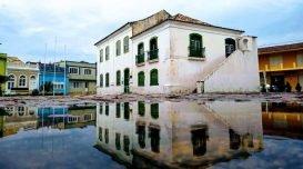 Foto: Elvis Palma/Agora Lagunaprevisao-do-tempo-chuva-nublado-museu-anita